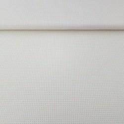 Toile sashiko ivoire pour motifs style hitomezashi