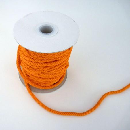 cordon orange vif 4mm