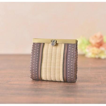 Natural tatami wallet sewing kit