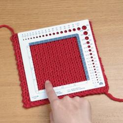 swatch ruler knitting