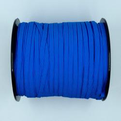 élastique plat bleu roi 5mm