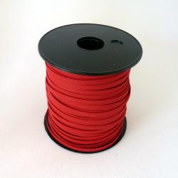 flat 5mm red elastic