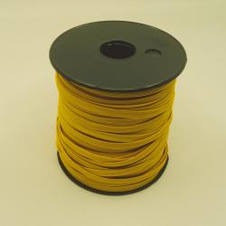 élastique plat jaune 5mm