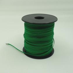élastique plat vert 5mm