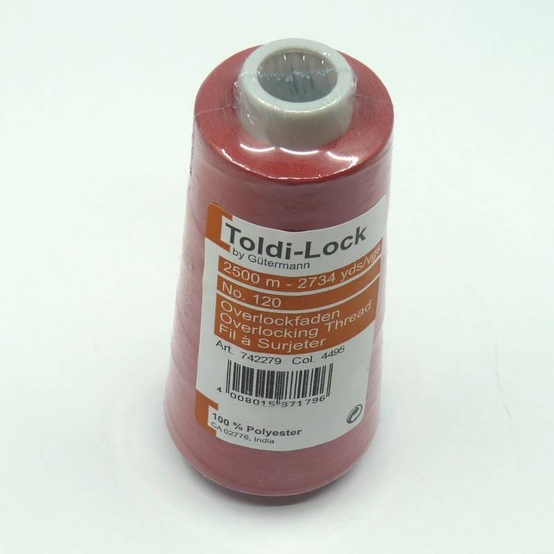 Cône de fil Gütermann Toldi-Lock 2500m - rouge