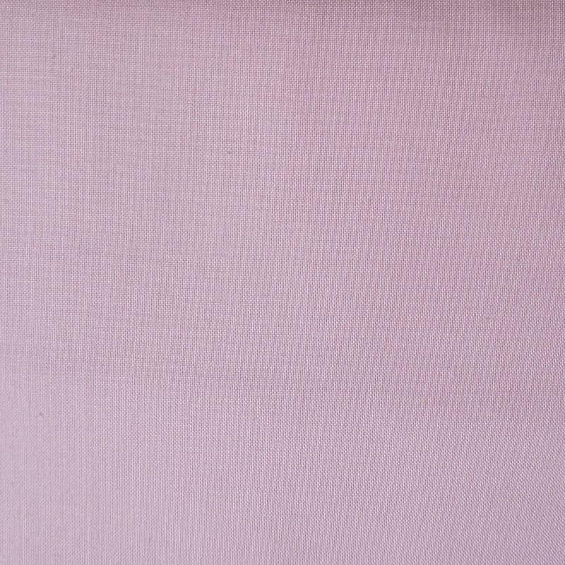 Plain light pink cotton fabric