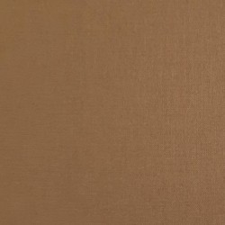 Plain brown cotton fabric