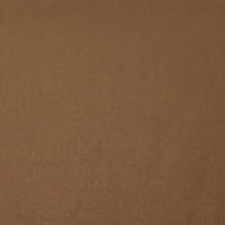 Tissu coton uni brun
