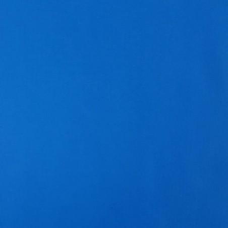 Tissu coton uni bleu roi