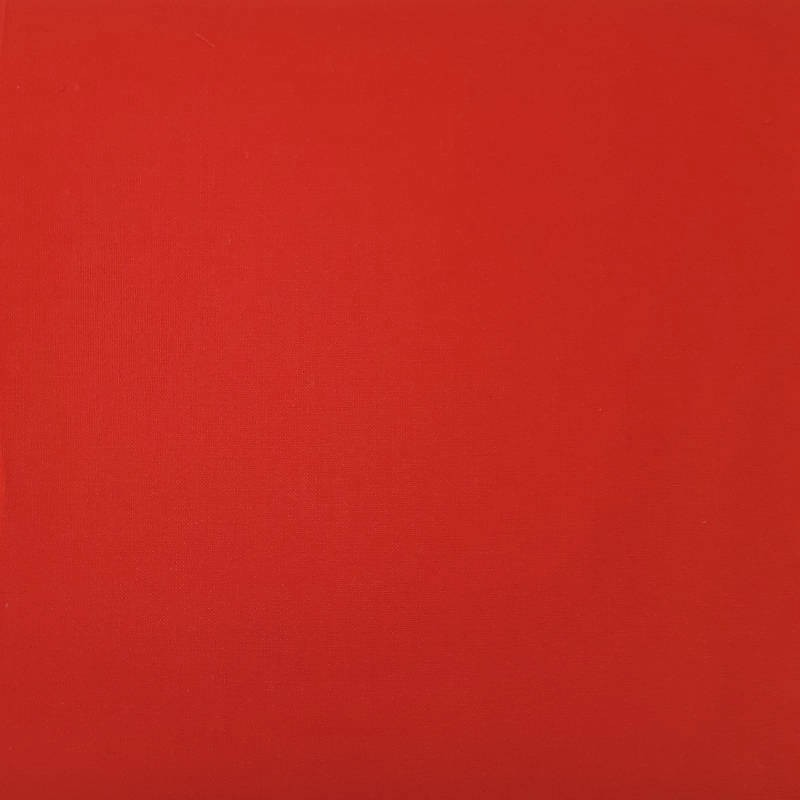 plain red cotton fabric