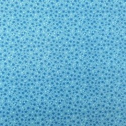 tissu étoiles bleu pastel