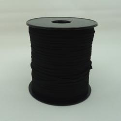 élastique plat 3mm noir