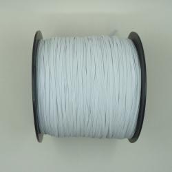 élastique plat blanc 3mm