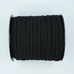 élastique plat noir 5mm