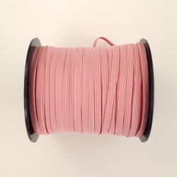pink flat elastic 5mm
