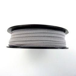 Elastique masques 5mm gris clair