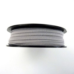 Soft elastic light grey 5mm