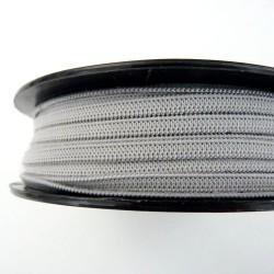 élastique doux pour masques gris clair 5mm