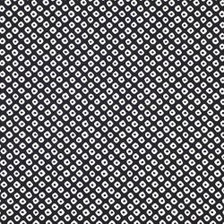 Kanoko pattern black japanese fabric