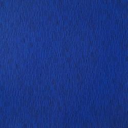 Tissu bleu électrique motifs graphiques de traits