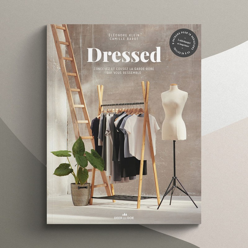 Dressed sewing book by Deer and Doe (in French)