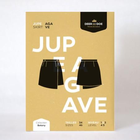 Agave reversible skirt pattern - Deer and Doe