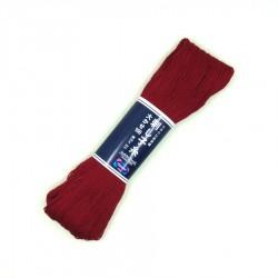 Fil sashiko rouge foncé 100m (104)