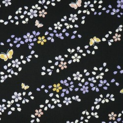 Japanese fabric with cherry...