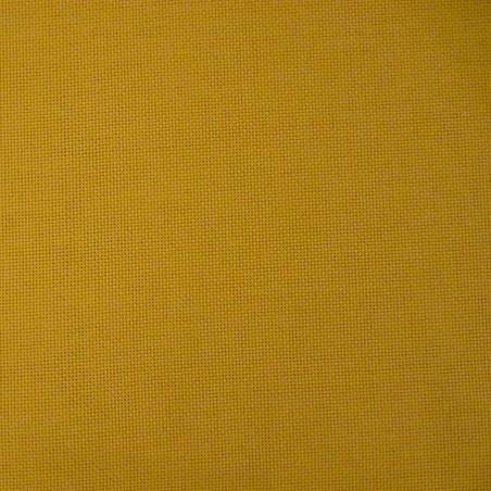 Toile japonaise jaune moutarde pour broderie kogin (épaisse)