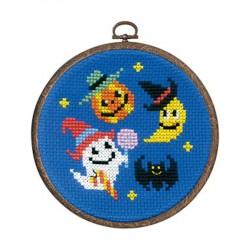 Halloween cross stitch kit