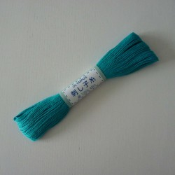 Fil turquoise pour sashiko 20m (17)