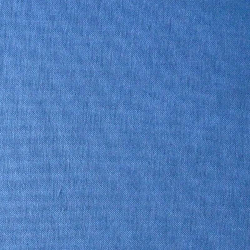 toile bleu vif pour broderie kogin