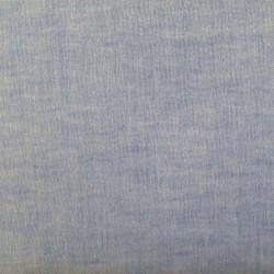 Tissu double gaze bleu clair uni