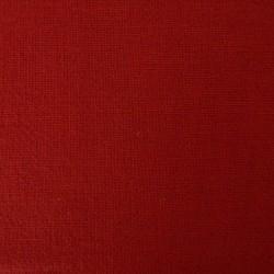 Toile coton rouge nuance rouille pour sashiko (souple)