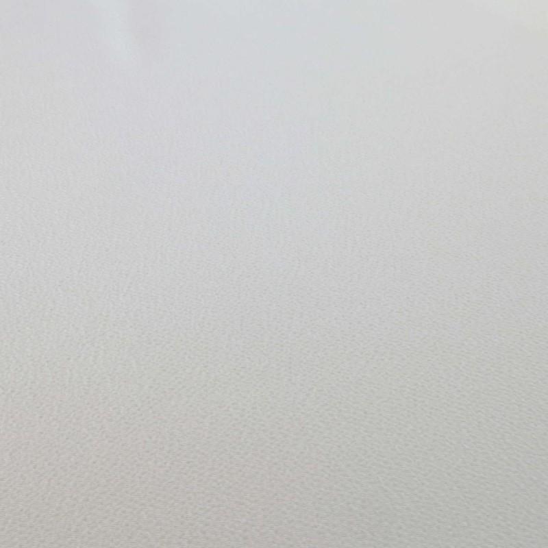 Tissu chirimen blanc uni