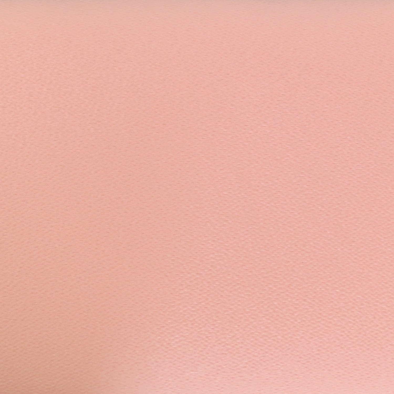 tissu japonais rose pâle saumon clair uni en chirimen crêpe de