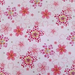 Tissu japonais rose pale...