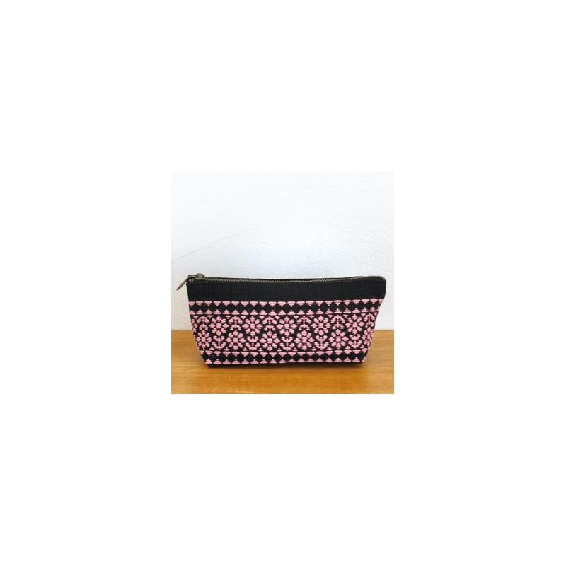 Kit kogin trousse à crayons noire et rose