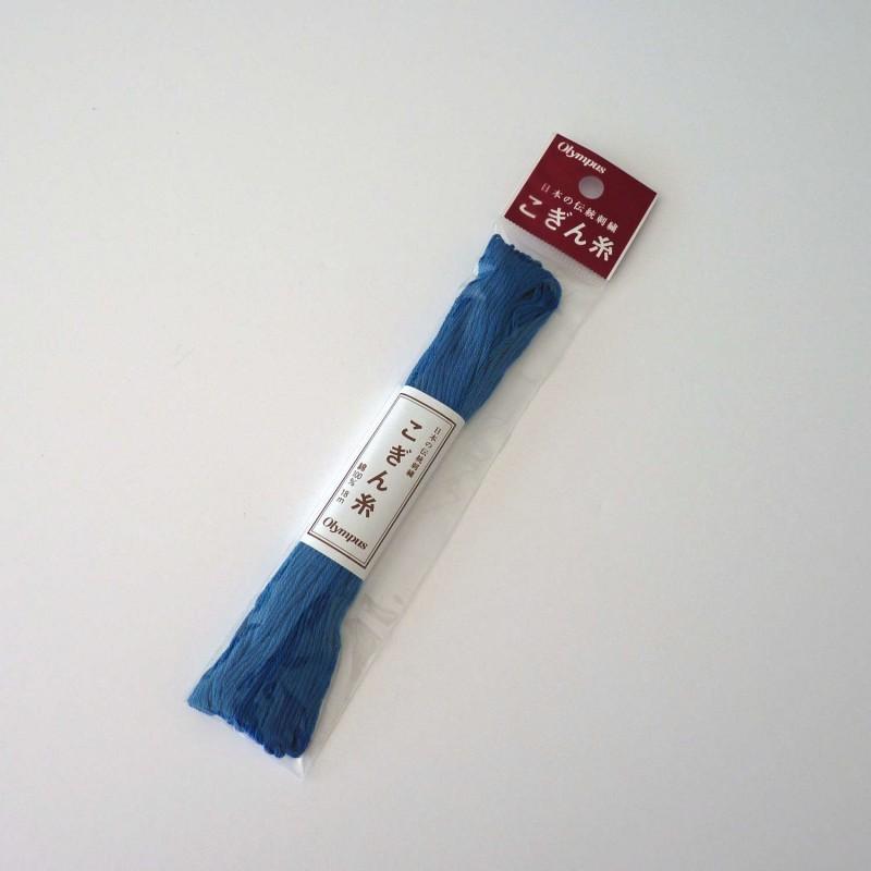 Fil bleu roi pour broderie kogin 18m (306)
