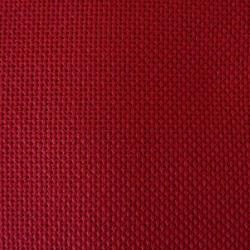 Toile japonaise rouge foncé pour broderie kogin (coupon : 44cm x 50cm) (épaisse)