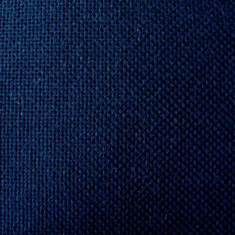 Toile japonaise bleu nuit pour broderie kogin (coupon : 44cm x 50cm) (épaisse)