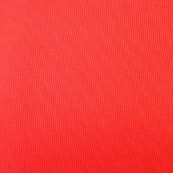 Toile rouge vif pour broderie kogin (coupon : 44cm x 50cm)