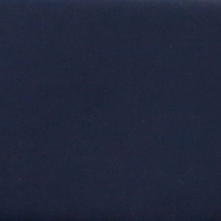 Tissu coton uni bleu nuit indigo