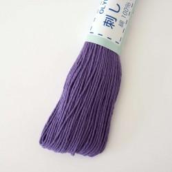 Fil sashiko violet 20m