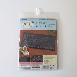 Kit sashiko 1 centre de table Mont Fuji (35x75cm)
