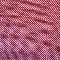 Tissu japonais rouge motifs shibori