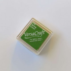 Encre mini Versacraft Spring Green (122) pour tissu, bois ou papier