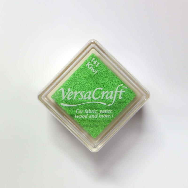 Encre mini Versacraft Kiwi (141) pour tissu, bois ou papier