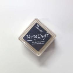 Encre mini Versacraft Midnight (162) pour tissu, bois ou papier
