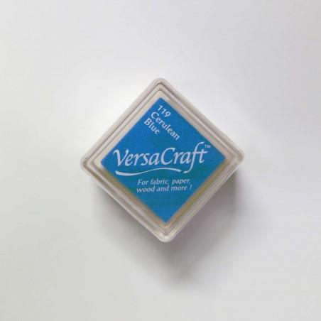 Encre mini Versacraft Cerulean Blue (119) pour tissu, bois ou papier
